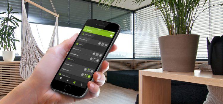 Loxone Smart Home App - Shading